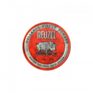 Reuzel Red Water Soluble High Sheen - pomada do włosów 35g