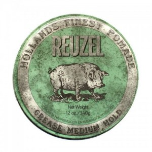 Reuzel Green Grease Medium Hold – pomada do włosów 340g