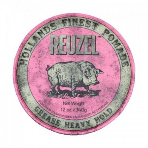 Reuzel Pink Grease Heavy Hold – pomada do włosów 340g